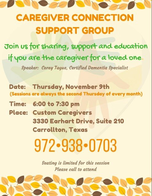 Caregiver Connection Support Group